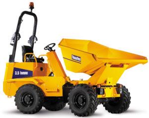 Opleiding transport op de werkplaats en opleiding heftruckchauffeur met deze dumper