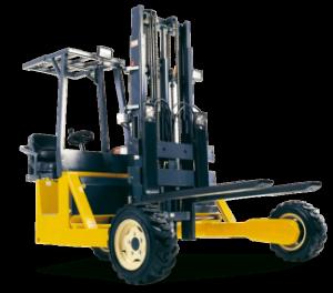 Opleiding transport op de werkplaats en opleiding heftruckchauffeur met deze meeneemheftruck
